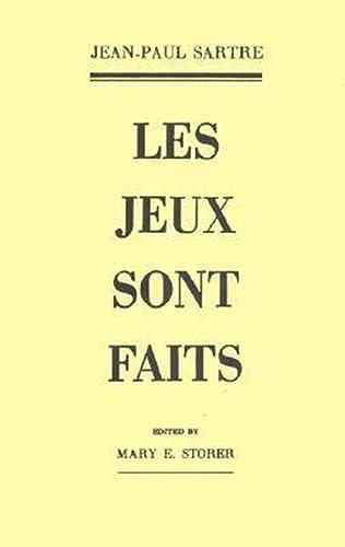 Les Jeux sont faits: Jean-Paul Sartre