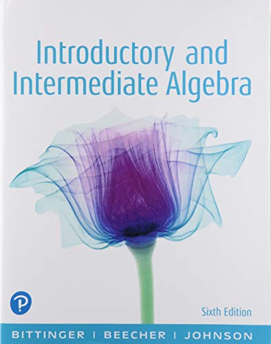 9780135308127: Introductory and Intermediate Algebra with Integrated Review plus MyLab Math with Pearson eText--Access Card Package