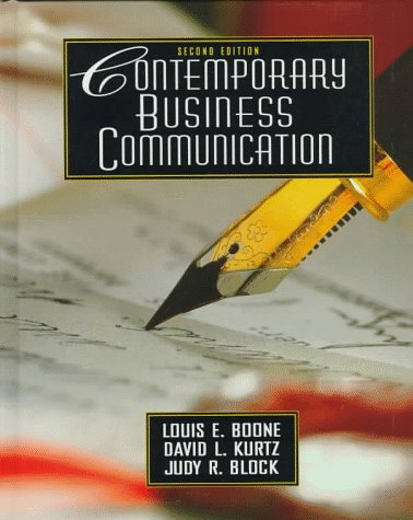 9780135312452: Contemporary Business Communication (2nd Edition)