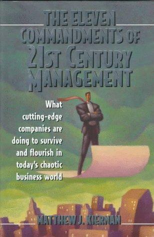 9780135324332: The 11 Commandments 21c Management