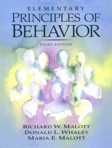 9780135335710: Elementary Principles of Behavior