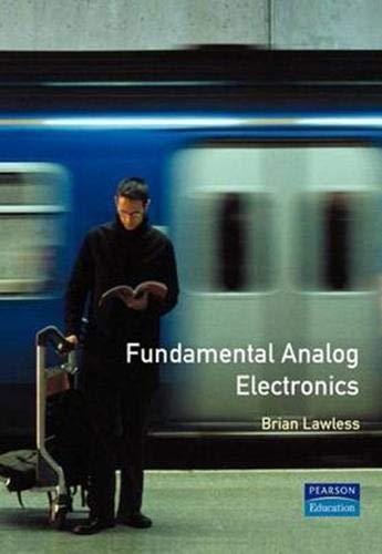9780135342985: Fundamental Analog Electronics
