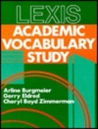 Lexis : Academic Vocabulary Study for ESL: Jerry Eldred; Arline