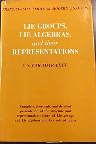 9780135357323: Lie Groups, Lie Algebras and Their Representatives (Modern Analysis)