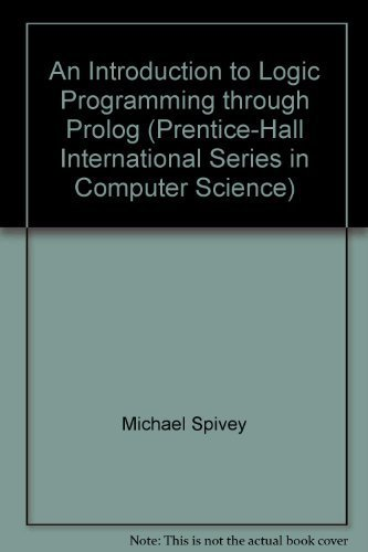 9780135360477: An Introduction to Logic Programming Through Prolog (Prentice Hall International Series in Computer Science)