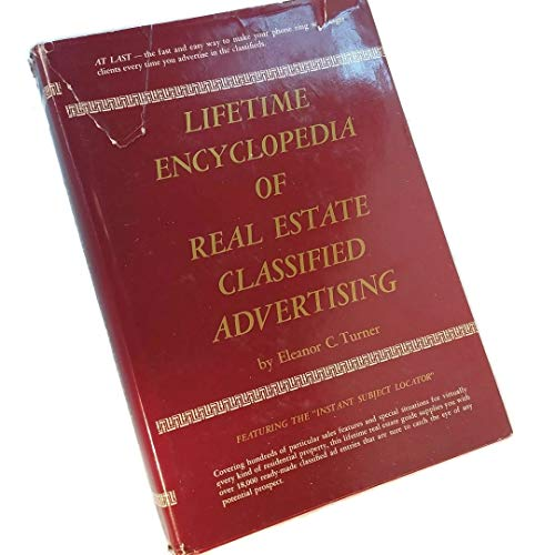 9780135364581: Lifetime encyclopedia of real estate classified advertising