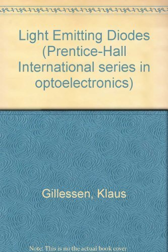 9780135365335: Light Emitting Diodes: An Introduction (Prentice Hall International Series in Optoelectronics)