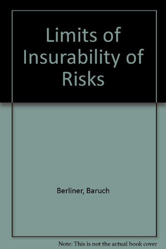 9780135367896: Limits of Insurability of Risks