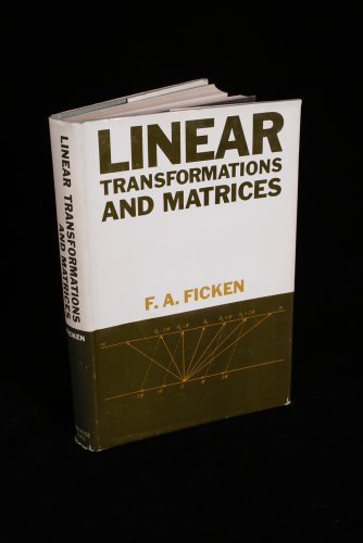 9780135369128: Linear Transformations and Matrices