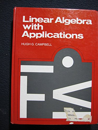 9780135369791: Linear Algebra with Applications Including Linear Programming
