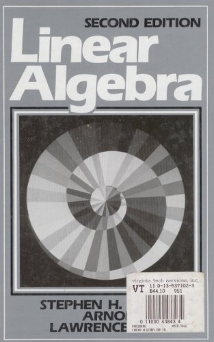 9780135371022: Linear Algebra