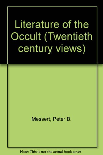 9780135377123: Literature of the Occult (Twentieth century views)