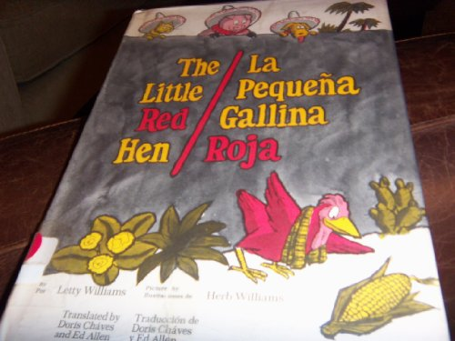 9780135379028: The little red hen: La pequeña gallina roja