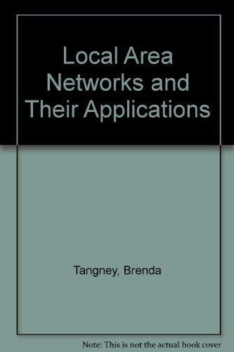 9780135395783: Local Area Networks and Their Applications