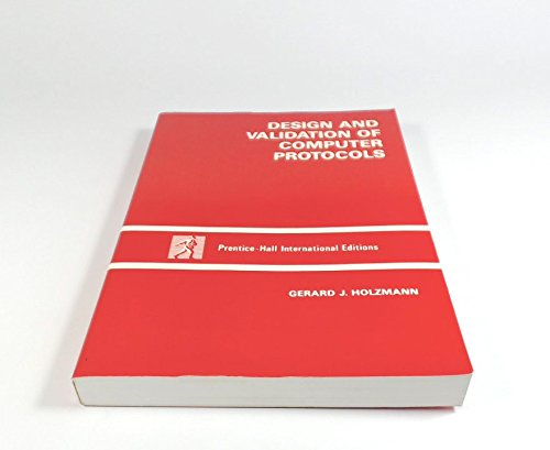 9780135398340: Design and Validation of Computer Protocols (Prentice Hall software series)