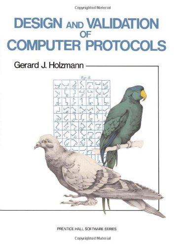 9780135399255: Design And Validation Of Computer Protocols