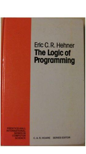 9780135399668: Logic of Programming
