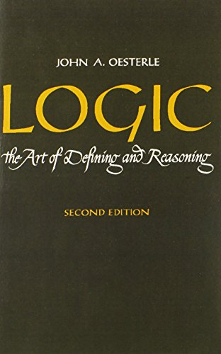 9780135399996: Logic: The Art of Defining and Reasoning (2nd Edition)