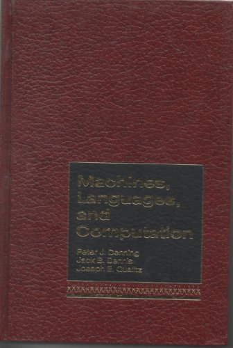 9780135422588: Machines, Languages and Computation