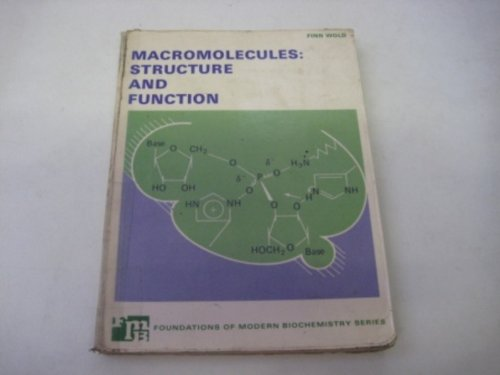 9780135426050: Macromolecules: Structure and Function