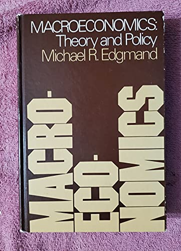 9780135426470: Macroeconomics: Theory and Policy