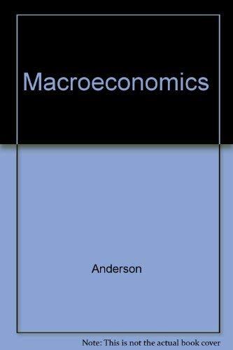 Macroeconomics: Ann Putallaz; W.