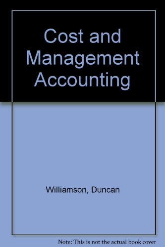 9780135435144: Cost and Management Accounting