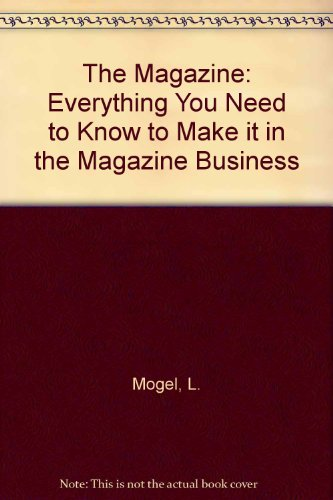 9780135437025 The Magazine Everything You Need To Know To Make It