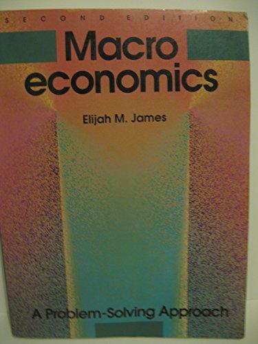 Macroeconomics ** James: James, Elijah M