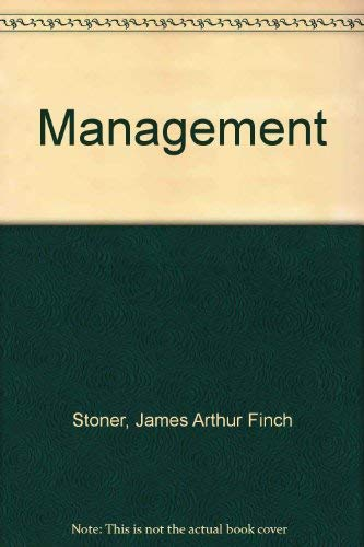 James a f stoner r edward freeman abebooks management r edward freeman fandeluxe Images