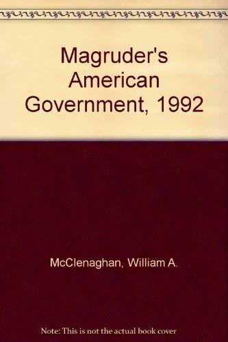 Magruder's American Government, 1992: Prentice-Hall, Inc. Staff;
