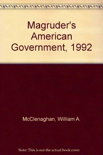 9780135445297: Magruder's American Government, 1992