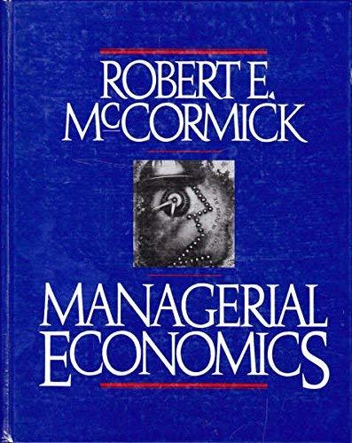 9780135447505: Managerial Economics