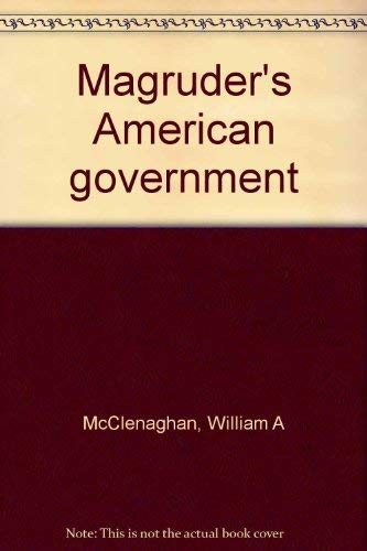 9780135455005: Magruder's American government
