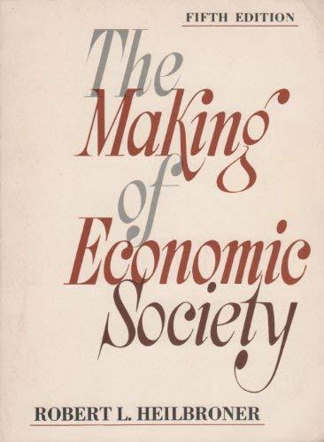 The Making of Economic Society: Heilbroner, Robert