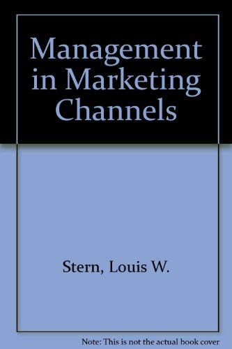 9780135478523: Management in Marketing Channels