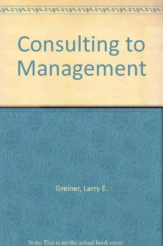 9780135481318: Consulting to Management