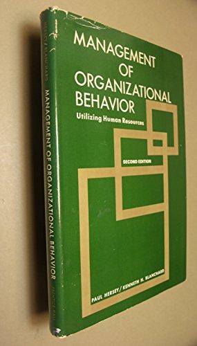 9780135487198: Management of Organizational Behaviour