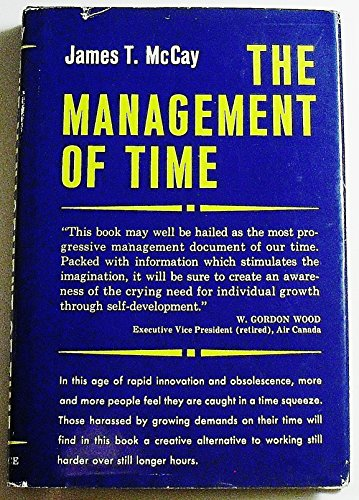 9780135489093: The Management of Time.