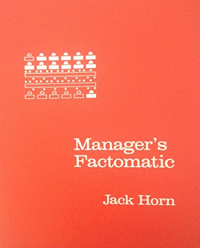 9780135492956: Manager's Factomatic