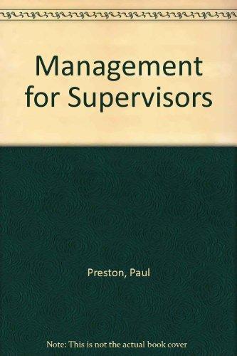 9780135497173: Management for Supervisors
