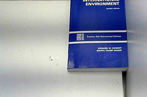 9780135513910: Marketing in the International Environment