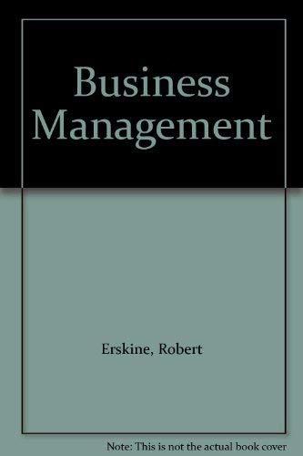 9780135520192: Business Management