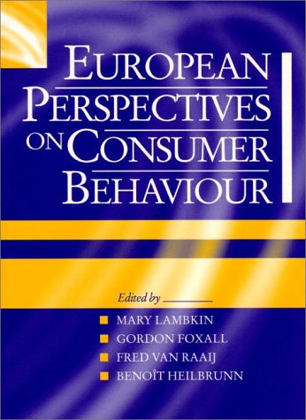 9780135523827: European Perspectives on Consumer Behaviour
