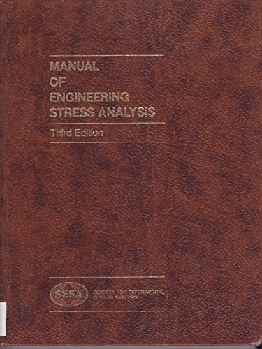 9780135535943: Manual of Engineering Stress Analysis