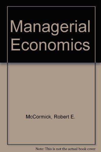 9780135538357: Managerial Economics