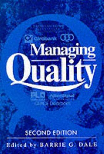 9780135551455: Managing Quality