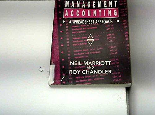9780135551523: Management Accounting: A Spreadsheet Approach