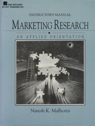 9780135553688: Instructor's Manual Marketing Research: An Applied Orientation