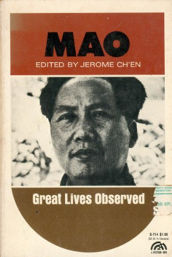 9780135558966: Mao (Great Lives Observed)